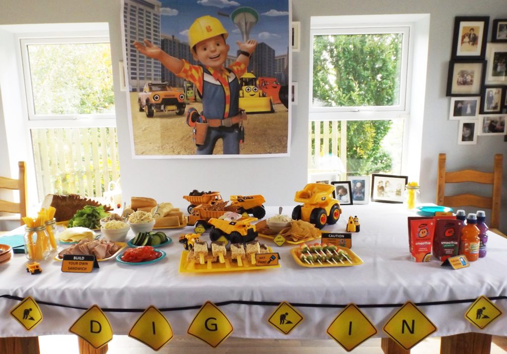 Construction Themed Birthday Party Eli S Bob The Builder